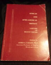 African and Afro-American History Book