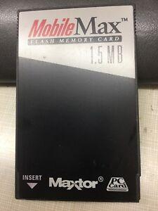 1.5 MB Maxtor MobileMax Flash Memory Card