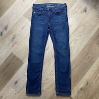 Calvin Klein Womens Jeans Slim Boyfriend blue size 2