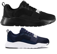 PUMA Suede Bow AC PS Kinder Schuhe Mädchen Sneaker 367318-04 schwarz neu
