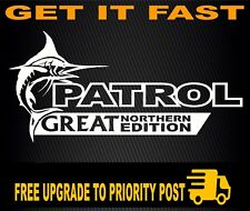 Patrol Nissan Gu Sticker 4x4 Decal Diesel Turbo Gq Ute