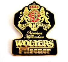 BIER Pin / Pins - WOLTERS PILSENER / sehr schöner Pin