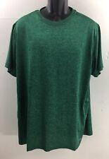 Tek Gear Mens Shirt Size Xxl Green Short Sleeve Dry Tek Sports Wear Sweat Shirt