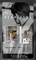 IN STOCK! [JINYOUNG] GOT7-HEAR ,HERE /PHOTOBOOK IN TAIPEI LIMITED ED-KPOP SEALED