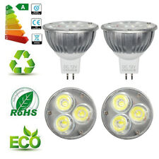 10x MR16 4W=35W LED Spotlight Downlight Bulbs Reflecter Lamp Daylight DC 12V UK