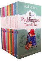 The Original Adventures of Paddington Bear Collection Michael Bond 13 Books Set