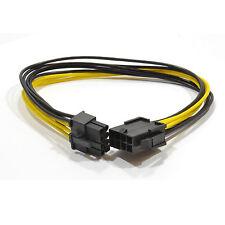 30cm 8 broches PCI Express PCIe Câble d'extension d'alimentation Mâle Vers Femelle [ 006233 ]