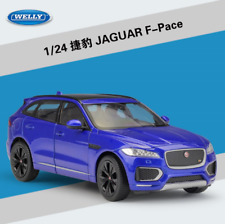 Welly 1:24 Jaguar F-Pace Diecast Metal Model SUV Car Blue New in box