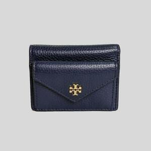 NEW TORY BURCH LEATHER CARTER MICRO WALLET BLACK.$149