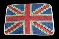 ENGLAND UK BRITAIN UNION JACK UNITED KINGDOM FLAG BELT BUCKLE BOUCLE DE CEINTURE