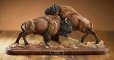 Test of Strength - Bison Sculpture by Greg Peltzer