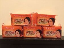 5 X Beauche international Kojic Papaya Beauty Soap.Lot Of 5 BIG SOAPS 150G EACH