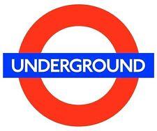 Train Tube Underground  London Logo Print  Sticker Decal Graphic Vinyl Label