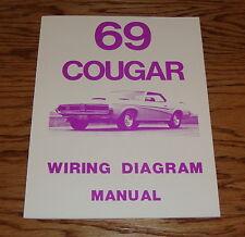 1969 Mercury Cougar Wiring Diagram Manual 69