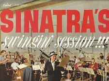 LP 3098  SINATRA'S SWINGIN SESSION