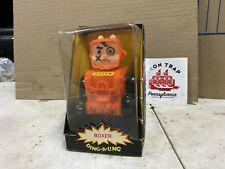 Vintage 1970 Boxer Ding-A-Ling ROBOT by Topper Toys w/ Original Instructions NIB