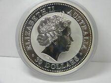 2000 Australia $30 1kg kilo .999 Silver Dragon BU Lunar Coin - Rare!