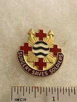 Authentic US Army 16th Surgical Hospital DI DUI Unit Crest Insignia G23