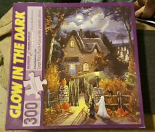 """300 PIECE PUZZLE """"TESS'S HALLOWEEN""""LARGE FORMAT """"GLOW IN THE DARK 18""""x24"""""""