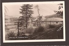 1950s Real Photo Sawmill at Oakland OR Oregon RPPC Dotson Lumber Mill