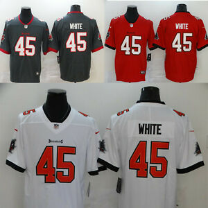 Men's Tampa Bay Buccaneers Devin White #45 Stitched Jersey free shipping