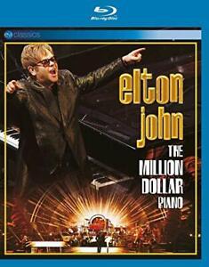 Elton John The Million Dollar Piano Blu-Ray All Regions NEW