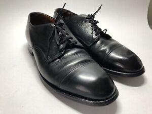 Alden Black Leather Cap Toe Derby Oxford Shoes 9571F - Men's 10 B/D See Desc