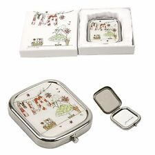 Tracey Russell Mum Metal & Epoxy Big Wishes Design Compact Mirror Gift Boxed