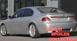 Painted BMW 02-08 E65 E66 7-series Sedan A type roof spoiler All Color ◎