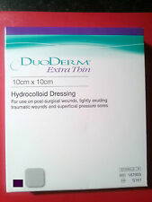 3X DUODERM EXTRA THIN HYDROCOLLOID DRESSING/PLASTER 10CMX10CM-NO RES-BARGAIN BUY