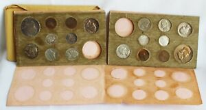 1956 P & D Uncirculated US Mint Set 10 Silver Coins Original Inner Envelope