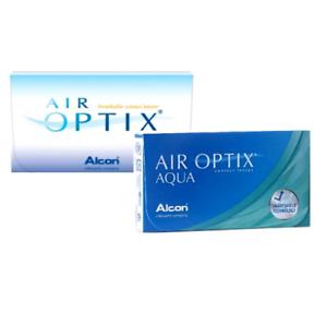 AIR OPTIX AQUA Monatslinsen von Alcon 1x6  Ciba, Alcon