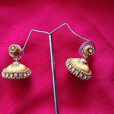 Indian Fancy Jhumka Jhumki Silk Thread Earrings