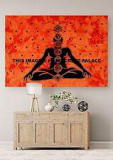 Meditation Buddha Boho Poster Indischen Wand hängenden Yogamat Werfen Tapisserie
