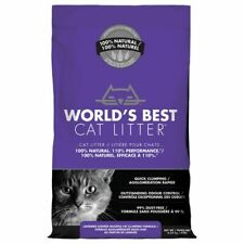 World's Best Cat Litter, Clumping, Biodegradable Lavender 12.7kg