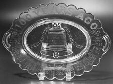 EAPG - SIGNERS Platter by Gillinder & Sons