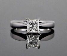 Anillos de joyería con diamantes anillo de compromiso, princesa I1