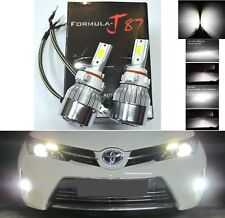 LED Kit C6 72W PSX24W 2504 5000K White Two Bulbs Fog Light Replacement Upgrade