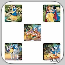 Disney Princess Stickers x 5 - SNOW WHITE CLASSIC - Party Favours - Loot Bags