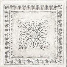 Tapete Rasch Textil Restored FD 24031 / Fliese Kachel Antik Metallic / 7,32 €/qm