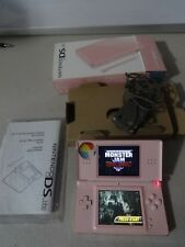 FULLY TESTED Original Nintendo DS Lite Pink Handheld System With Original Box