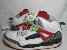 Nike Air Jordan Spizike White Poison Green Cement Retro 315371-132 Shoes 13
