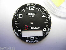 Dial cadran montre chrono TISSOT TOUCH 1853 - 28 mm Zifferblatt 錶盤 Watch 1
