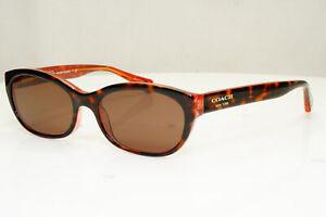 Authentic COACH Womens Sunglasses Brown HC 6041 5115 31404