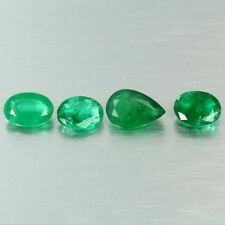 Natural Oval Loose Emeralds