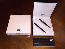 MONTBLANC PIX 2er Kugelschreiber Luxus Set black & blue Ballpoint NEU in OVP