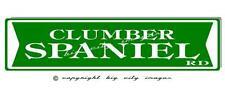 Clumber Spaniel Dog Aluminum Street Sign Free shipping