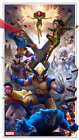 X-Men Animated Series Variant Giclee Print Poster by Pablo Olivera BNG XX/50