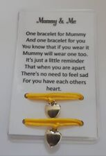 2 x Bracelets - One For Mummy/One For Child-Separation/Anxiety - School/Nursery