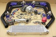 T3/T4 AR .63 STAGE 3 TURBO KIT w/TURBOCHARGER .63AR+PIPING+WASTEGATE+INTERCOOLER